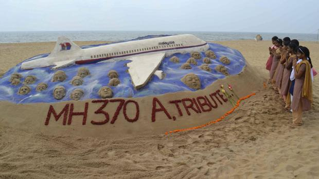 Un homenaje a los pasajeros del vuelo MH-370 desaparecido en 2014