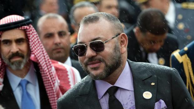 El Rey Mohamed VI de Marruecos
