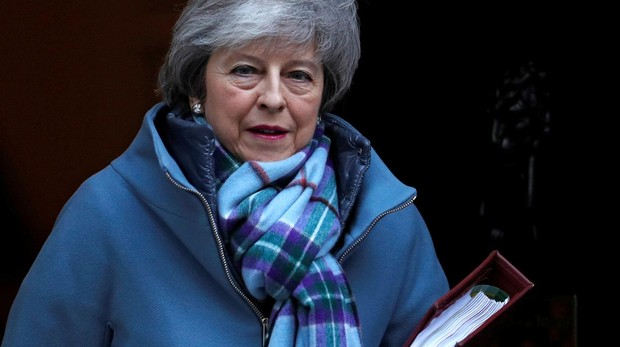 May viaja a Bruselas para intentar renegociar el acuerdo del Brexit