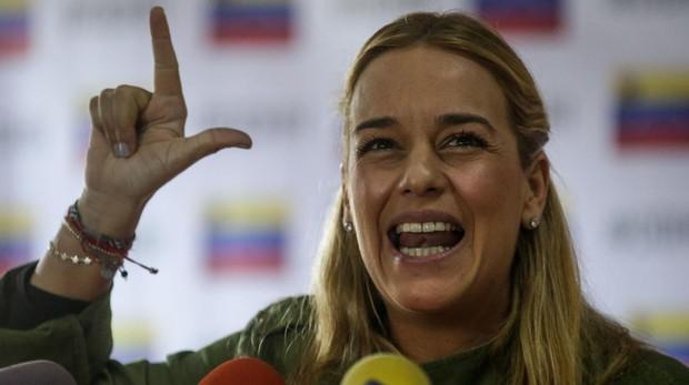 Lilian Tintori: «Leopoldo está trabajando desde su prisión por Venezuela»