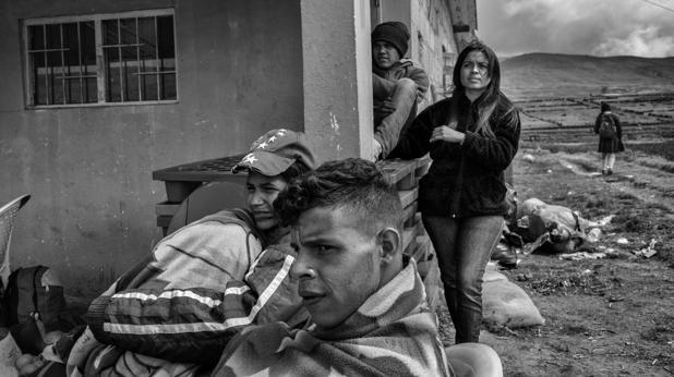 «En Venezuela no hay nada»: el drama del exilio forzoso