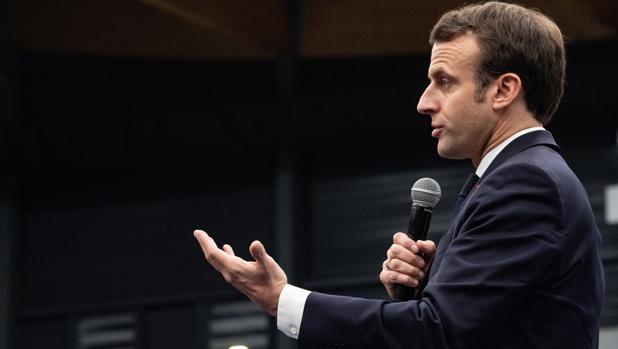 Macron quiere convencer a Europa, pero no convence en Francia