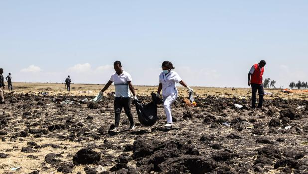 Dos españoles, entre los 157 muertos en el accidente de un avión comercial en Etiopía