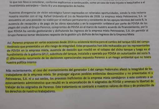 Un carta filtrada revela la desconfianza de las empresas foráneas por cómo gestiona Maduro el petróleo