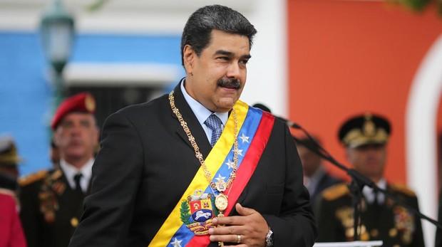 El presidente ilegítimo de Venezuela, Nicolás Maduro