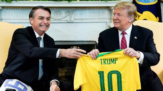 Trump se inclina por dar a Brasil privilegios similares a sus aliados los de la OTAN
