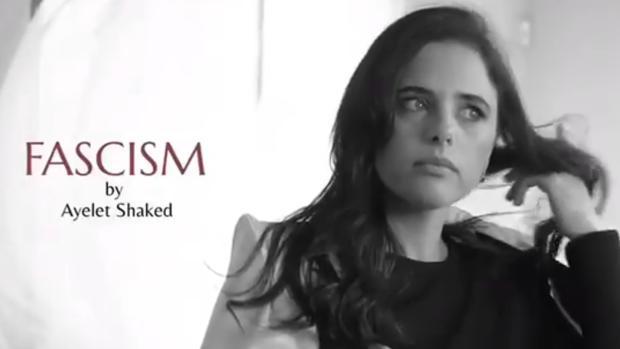 ¿Por qué la ministra de Justicia de Israel presenta en un vídeo un perfume llamado «Fascismo»?