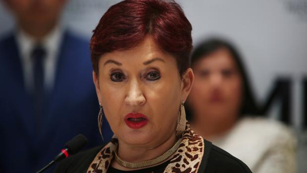 Thelma Aldana, una de las candidatas que lideran la intención de voto