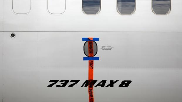 Un avión 737 Max 8