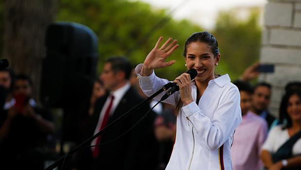Fabiana Rosales, esposa de Juan Guaidó