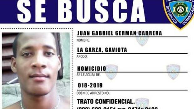 Juan Gabriel Germán Cabrera, pareja de la empleada del hogar y su posible cómplice