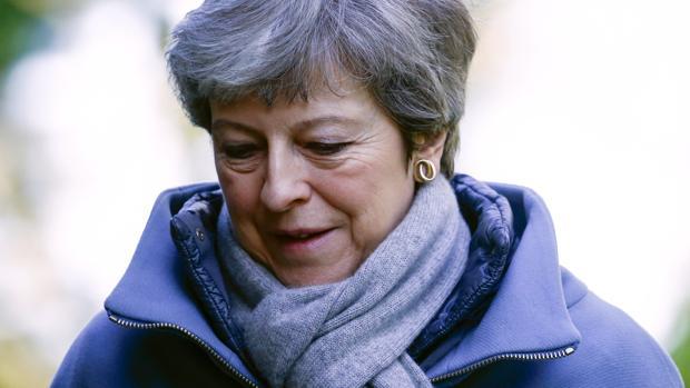 La primera ministra de Reino Unido, Theresa Mat