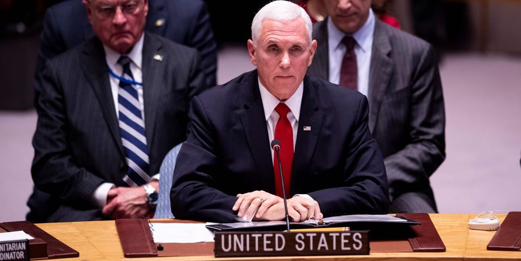 Pence, al embajador de Maduro en la ONU: «Usted no debería estar aquí»