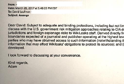 Assange negoció inmunidad a cambio de colaborar con la CIA