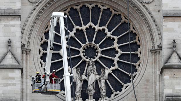 La reconstrucción de Notre Dame se convierte en la gran causa nacional de Francia