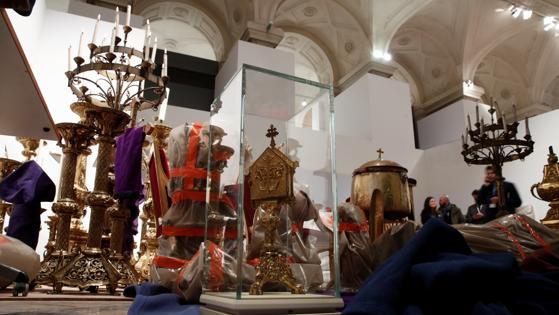 Algunos de los tesoros salvados de Notre Dame