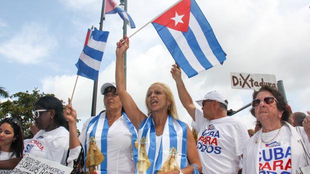 Cubanos radicados en el estado de la Florida en EE.UU.