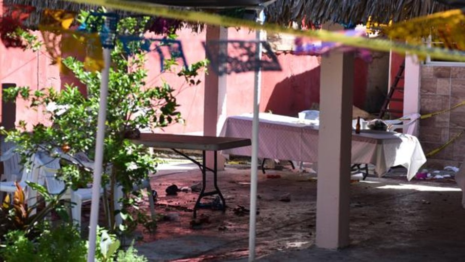 Asesinan a 13 personas en una fiesta del Viernes Santo en Veracruz