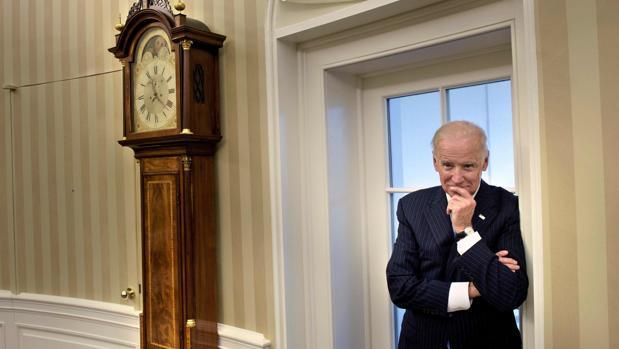 El vicepresidente con Obama, Joe Biden