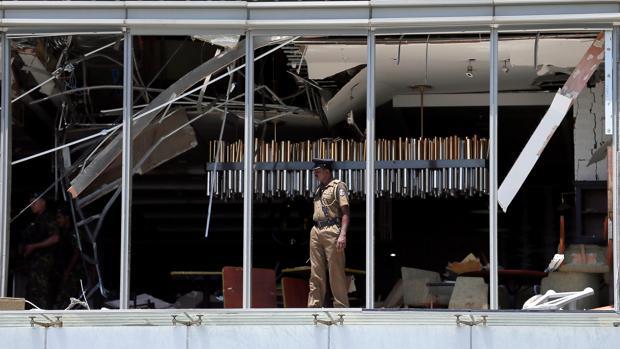 El comedor del Hotel Shangri-La en Colombo