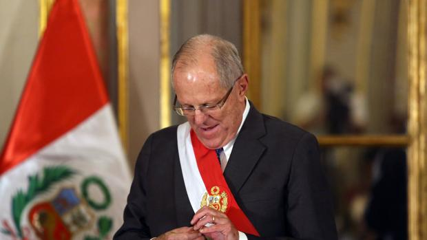 Imagen del expresidente en el año 2017