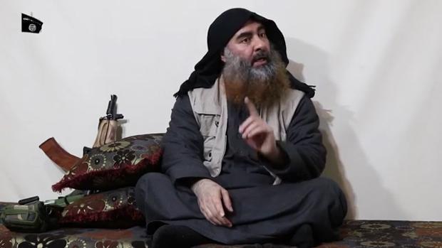 Abu Bakr Al Bagdadi, en el vídeo
