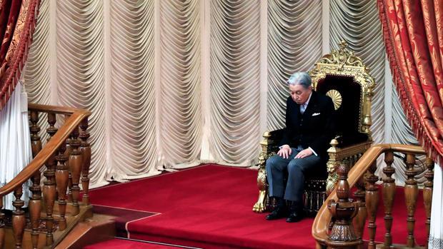 Foto de archivo del emperador Akihito de Japón