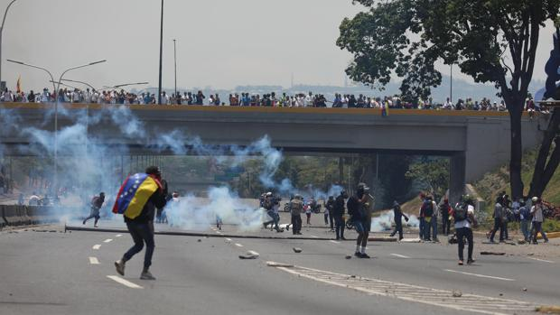 Venezuela, señal de vídeo en directo de las protestas en Caracas