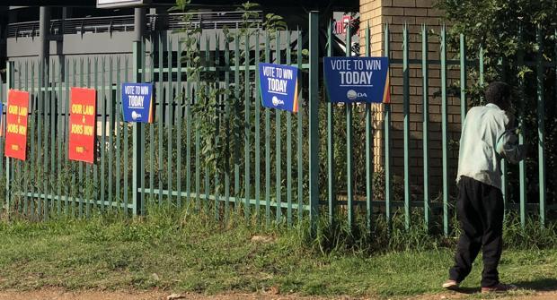 El partido de Mandela, en horas bajas