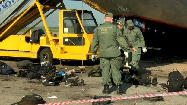 Un rayo estuvo en el origen del accidente del avión de Moscú