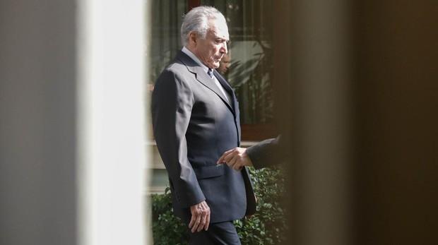 El expresidente de Brasil Michel Temer