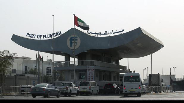 El puerto de Fujairah en Emiratos Árabes Unidos