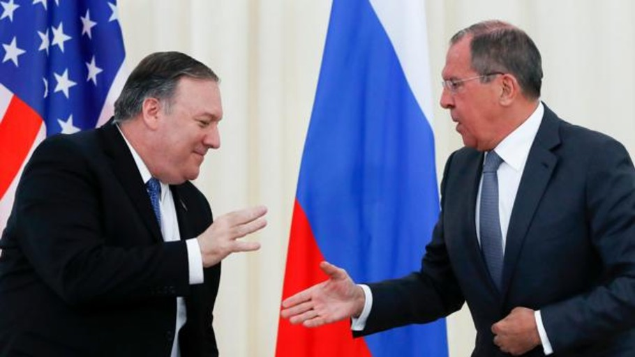El ministro de Exteriores ruso afirma que «no puede haber democracia por la fuerza» en Venezuela