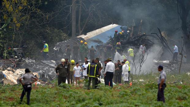 Cuba publica el informe sobre el accidente del Boeing 737-200