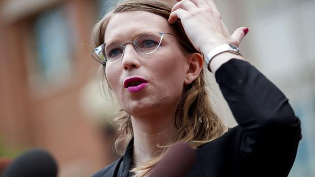 Chelsea Manning, exanalista de inteligencia del Ejército de EE.UU. que proporcionó documentos secretos a WikiLeaks en 2010