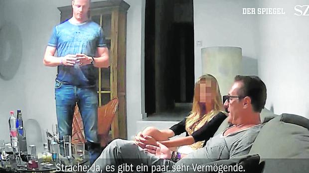 ¿Quién está detrás de la grabación «trampa» contra Strache?