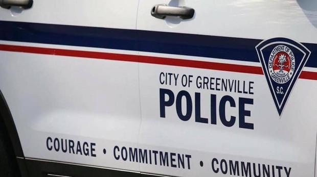 Coche de policía de la ciudad de Greenville