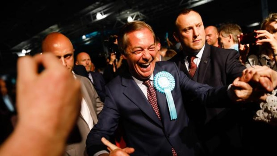 El Parlamento Europeo investigará a Farage por no haber declarado importantes donaciones