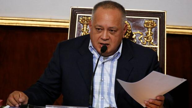El presidente de la Asamblea Nacional Constituyente de Venezuela, Diosdado Cabello