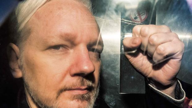 Fotografía de archivo del fundador de Wikileaks, Julian Assange