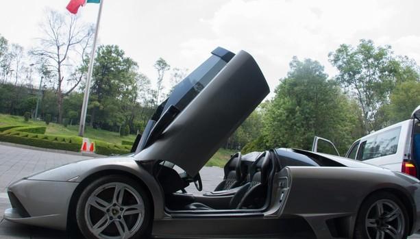 En la imagen, uno de los vehículos que será subastado este domingo en Los PInos