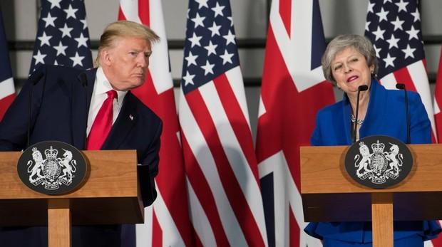 Trump promete un comercio con Londres similar al que Reino Unido tenía con la UE