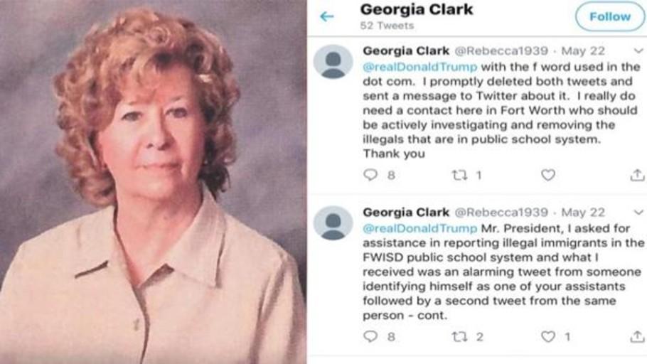 Despiden a una maestra que pidió a Trump por Twitter que deportara a los estudiantes ilegales