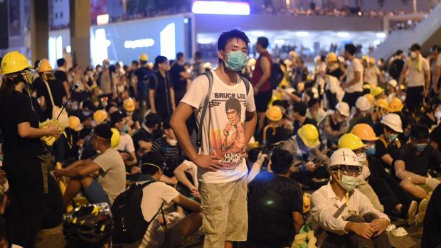 Caos en Hong Kong por las protestas contra la ley de extradición a China