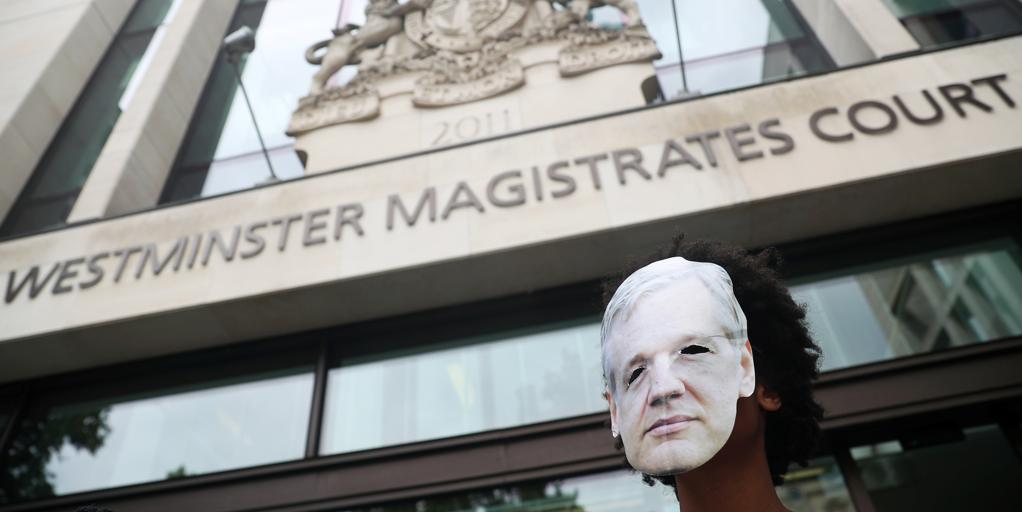 El juicio para la extradición a EE.UU. de Assange empezará el 25 de febrero