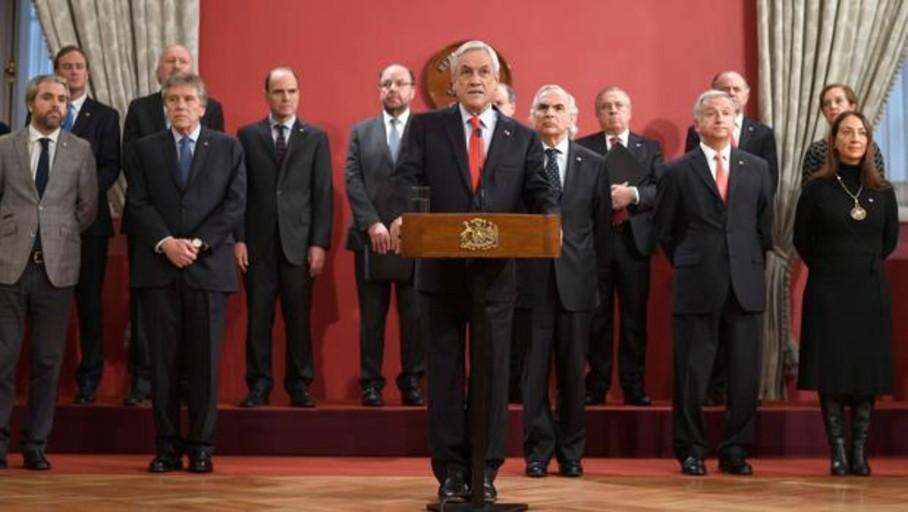 Piñera cambia al canciller y otros cinco ministros en Chile