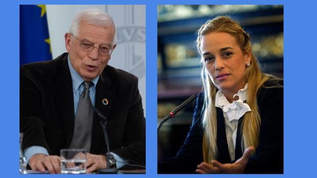 Lilian Tintori pide a Borrell más sanciones contra el gobierno de Maduro