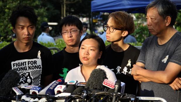 «Seguiremos protestando hasta la retirada total de la ley»
