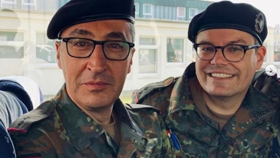 Los Verdes hacen prácticas en el ejército alemán