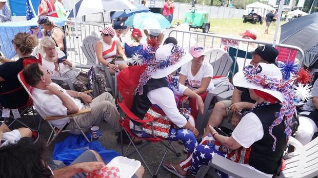 Trump lanza en Florida la campaña para su reelección el año que viene